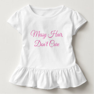 T-shirt Pour Les Tous Petits Enfant en bas âge, cheveux malpropres
