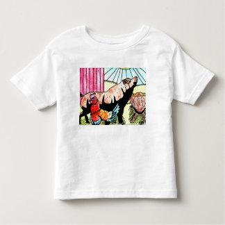T-shirt Pour Les Tous Petits Enfant en bas âge T d'amusement de basse cour