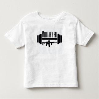 T-shirt Pour Les Tous Petits Enfants convenables de militaires