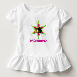 T-shirt Pour Les Tous Petits Étoile de teckel