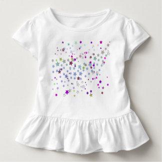 T-shirt Pour Les Tous Petits Étoiles magiques, chimères, rose, la poussière