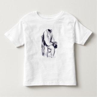 T-shirt Pour Les Tous Petits Étude d'Edgar Degas | pour un portrait de Manet