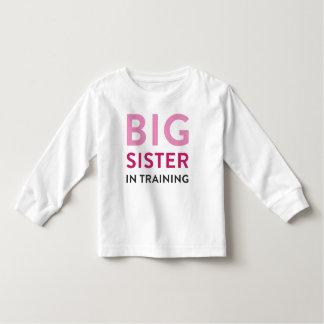 T-shirt Pour Les Tous Petits Faire-part de chemise de grande soeur, soeur dans