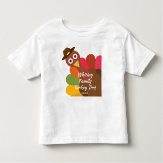 T-shirt Pour Les Tous Petits Famille étant assortie de danse du Turkey Trot