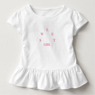 T-shirt Pour Les Tous Petits Fille douce