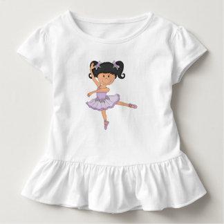 T-shirt Pour Les Tous Petits Fille mignonne de ballerine