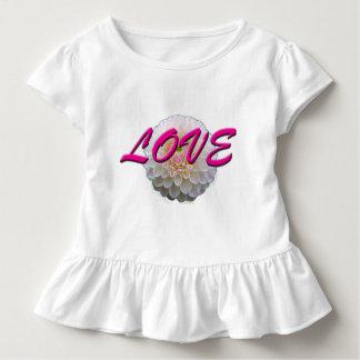 T-shirt Pour Les Tous Petits Fleur d'amour