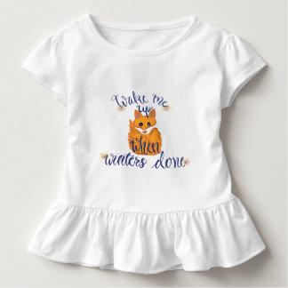 T-shirt Pour Les Tous Petits Fox mignon d'hiver