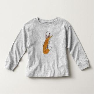 T-shirt Pour Les Tous Petits Fox rouge