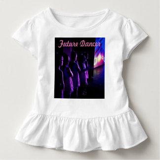 T-shirt Pour Les Tous Petits Futur danseur attendant sur la chemise de côté