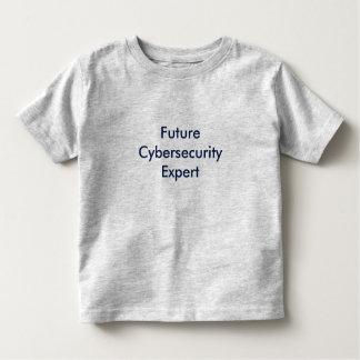 T-shirt Pour Les Tous Petits Futur expert en matière de Cyber