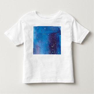 T-shirt Pour Les Tous Petits Galaxie bleu-foncé