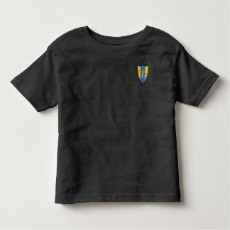 T-shirt Pour Les Tous Petits Gardez le calme et le CAV sur l'enfant en bas âge