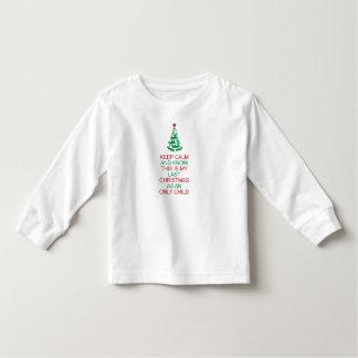 T-shirt Pour Les Tous Petits Gardez le calme pour connaître mon dernier enfant