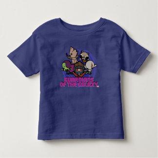 T-shirt Pour Les Tous Petits Gardiens de Kawaii du graphique de remous de