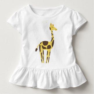 T-shirt Pour Les Tous Petits Girafe mignonne