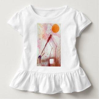 T-shirt Pour Les Tous Petits Globes 19 de dessus de tunique de la ruche des
