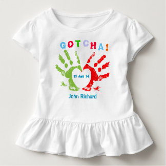 T-shirt Pour Les Tous Petits Gotcha jour - conception d'adoption