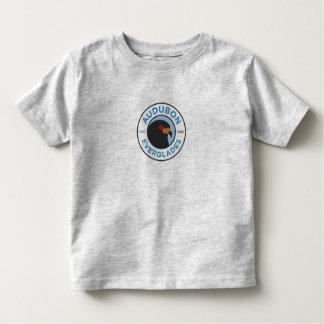 T-shirt Pour Les Tous Petits Gris de chemise d'enfant en bas âge de marais
