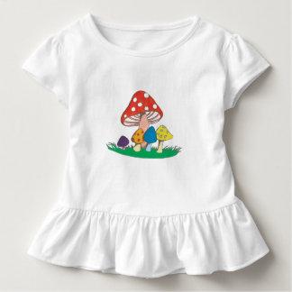 T-shirt Pour Les Tous Petits Groupe de champignon