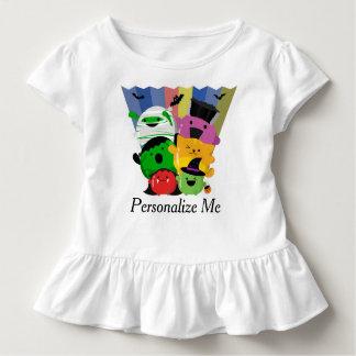 T-shirt Pour Les Tous Petits Halloween personnalisable - amis mignons de Mochi