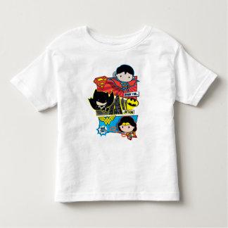 T-shirt Pour Les Tous Petits Héros de Chibi prêts pour l'action !