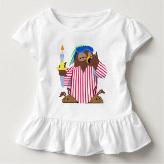 T-shirt Pour Les Tous Petits Hibou somnolent de Noël