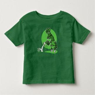 T-shirt Pour Les Tous Petits illustration drôle de style étranger stupide de