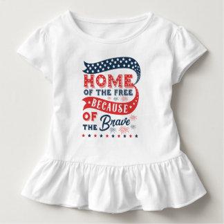 T-shirt Pour Les Tous Petits Inspiration à la maison de la chemise libre de