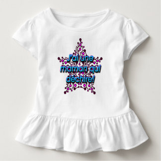 T-shirt Pour Les Tous Petits J ai une maman qui déchire