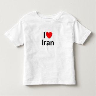 T-shirt Pour Les Tous Petits J'aime le coeur Iran