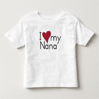 T-shirt Pour Les Tous Petits J'aime ma Nana