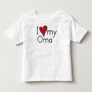 T-shirt Pour Les Tous Petits J'aime mon Oma