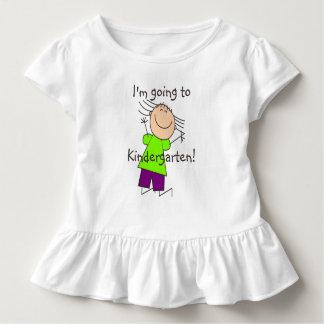 """T-shirt Pour Les Tous Petits """"Je vais au jardin d'enfants """""""