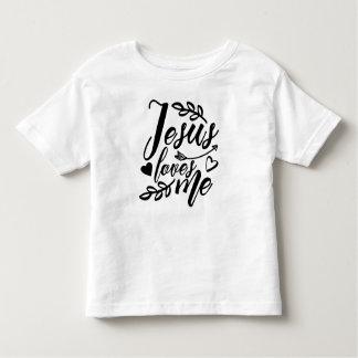 T-shirt Pour Les Tous Petits Jésus m'aime - ENFANT EN BAS ÂGE