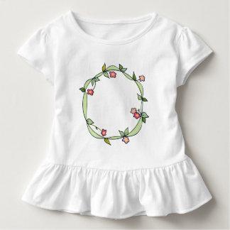 T-shirt Pour Les Tous Petits Joli anneau de pièce en t de petits bouquets