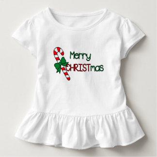 T-shirt Pour Les Tous Petits Joyeux Noël rouge et vert