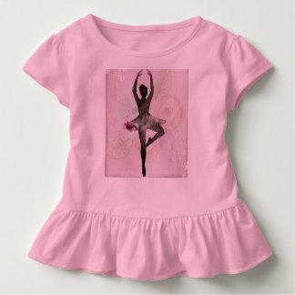 T-shirt Pour Les Tous Petits La chemise de l'enfant de ruche de ballerine