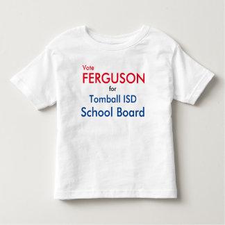T-shirt Pour Les Tous Petits La chemise des enfants de Ferguson de vote