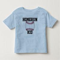 """La chemise """"enfant d'enfants de base-ball de"""