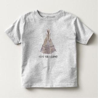T-shirt Pour Les Tous Petits La mini caverne d'homme badine la pièce en t