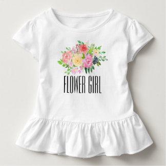 T-shirt Pour Les Tous Petits La pièce en t d'enfant en bas âge de demoiselle de
