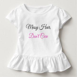 T-shirt Pour Les Tous Petits La ruche d'enfant en bas âge, les cheveux