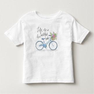 T-shirt Pour Les Tous Petits La vie de inspiration est une belle chemise du