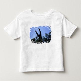 T-shirt Pour Les Tous Petits L'Afrique, Tanzanie, parties scintillantes atteint