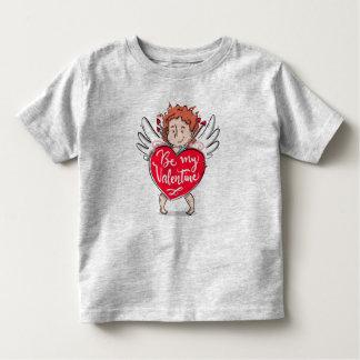 T-shirt Pour Les Tous Petits Le beau cupidon soit ma chemise de Valentine |
