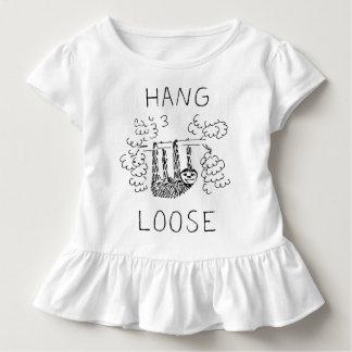 T-shirt Pour Les Tous Petits Le coup desserrent la paresse