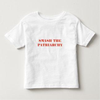T-shirt Pour Les Tous Petits Le fracas le patriarcat badine la chemise
