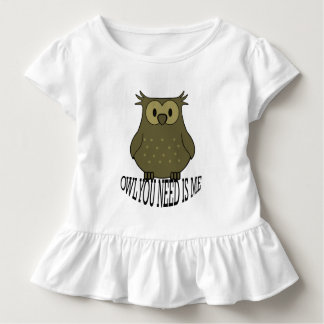 T-shirt Pour Les Tous Petits le hibou que vous avez besoin est moi