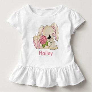 T-shirt Pour Les Tous Petits Le lapin personnalisé de Hailey